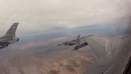 F-16 Fighting Falcon aircraft Footage