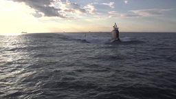 The newest Virginia-class submarine Minnesota (SSN 783) Footage