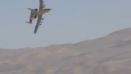 Fairchild Republic A-10 Thunderbolt II show of force Footage