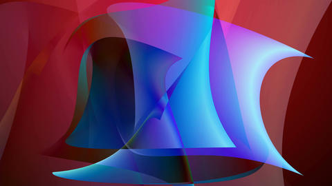 Abstract colorful shapes background Animation