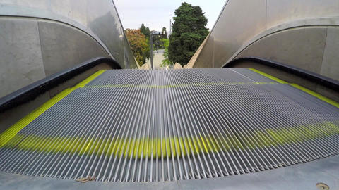 Escalator Electric Stairs Footage