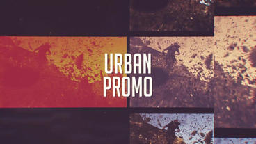 Urban Glitch Promo After Effects Project