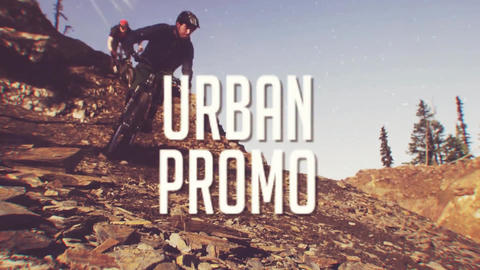 Urban Glitch Promo After Effects Template