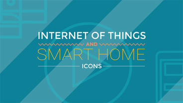 Internet Of Things and Smart Home Icons After Effectsテンプレート