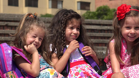 Cute Little Girls Preschool Kids Live Action