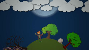 Circle halloween Apple Motion Project