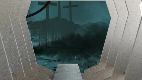 animation - Post apocalyptic sceneB62 Animation