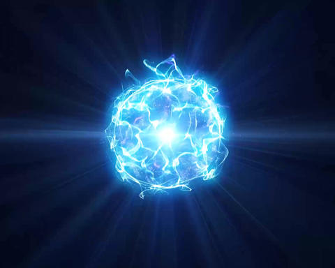 Energie Aura Ball Blue Animation