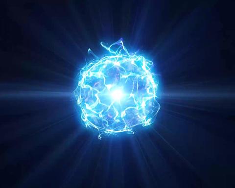 Energie Aura Ball Blue Animation