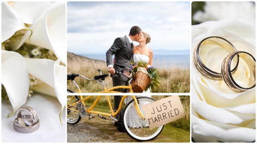 White Wedding Photo Gallery After Effects Project