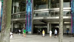 Malaysia Kuala Lumpur 044 portal of Petronas Twin Towers Footage