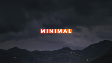14 Colorful minimal titles After Effects Project