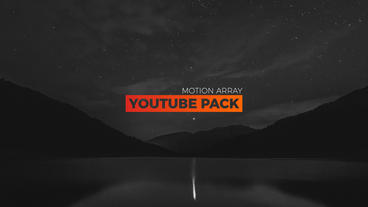 Youtube pack After Effects Templates