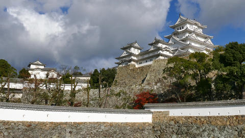 Old Building Monument View Of Himeji Castle In Japan Asia 画像