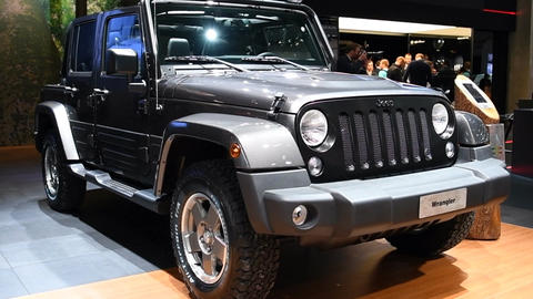 Jeep Wrangler four-wheel drive off-road sport utility vehicle Live Action