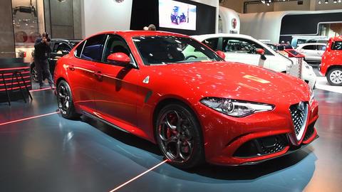 Alfa Romeo Giulia Quadrifoglio QV Live Action