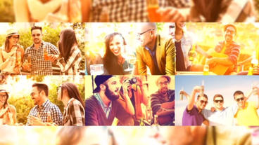 Color Vacation Slideshow After Effects Template
