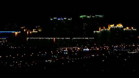 1080p Night City Lights / Big City Landscape / Night Life Footage