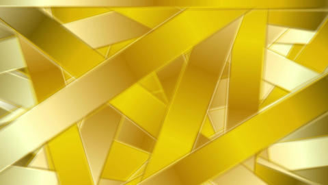 Golden abstract stripes luxury video animation Animation