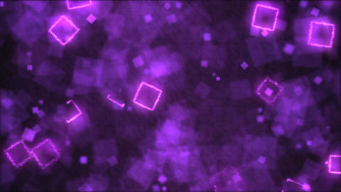 Drawing Square Shapes Motion Background Animation - Loop Purple Animation