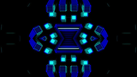 Techno Shiver 4K 02 Vj Loop Animation