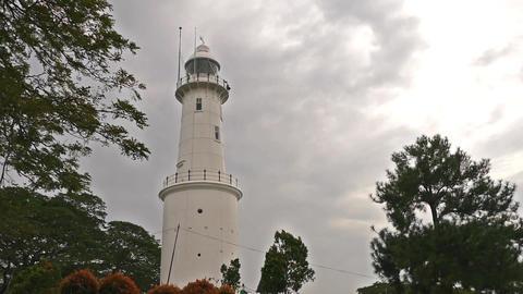 Altingsburg Lighthouse of Bukit Malawati. Kuala Selangor, Malaysia 영상물
