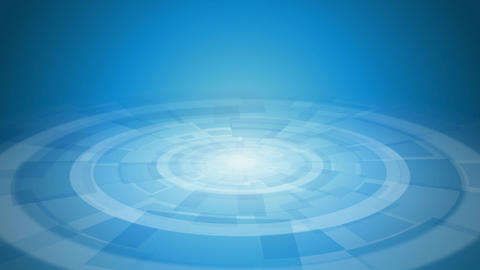blue modern abstract background endless loop rotating Animation