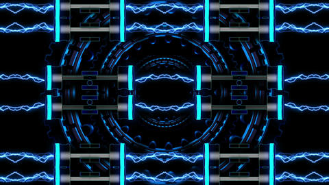 Techno Heart 04 Vj Loop Animation