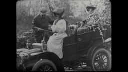 Turn of the Century 1890s - 1900s Hand Cranked Automobile Footage