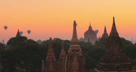 bagan-sunset Footage