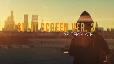 Split screen ver.2 ae template Plantilla de After Effects