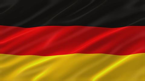 Flag of Germany 4K Animation