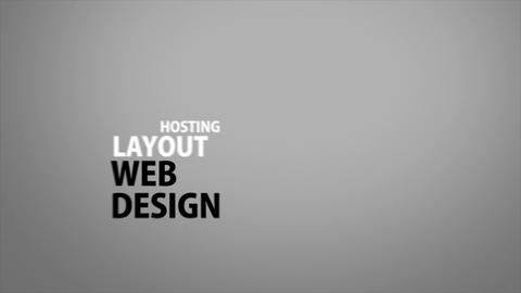 Web Design Kinetic Footage