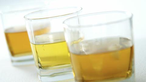 glasses of whiskey for st patricks Live Action