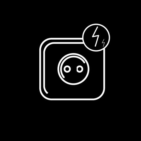 Power socket, Stock Animation