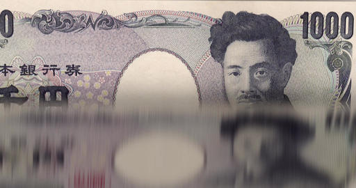 1080p Loopable: Banknotes Printing/Counting Machine Animation Footage