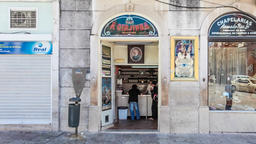 a ginjinha registada liquor sao domingos square establishment store rossio cherr Footage