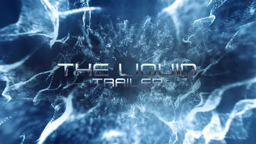The Liquid Trailer Plantilla de After Effects