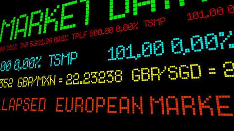 European markets collapsed Acción en vivo