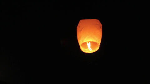 Chinese Sky Lantern Live Action