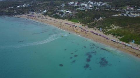 DJI MAVIC 4K Pingtung Kenting White Sand Bay 20170227 2 Footage