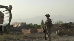 Infantrymen Disrupt Enemy Activity in Eastern Afghanistan Footage