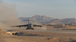 Boeing C-17 Globemaster III take off Footage