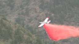Aircraft fire fighting High Park Forest Fire Footage