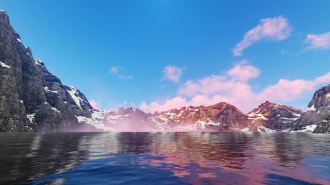 Mountain Lake Animation