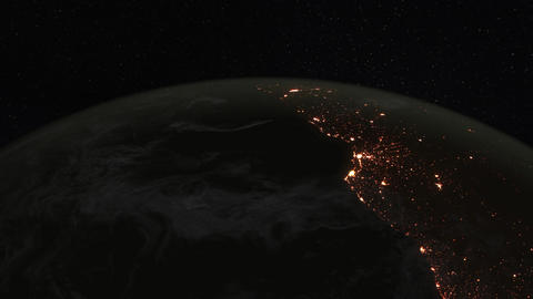 1080p Loopable: Planet Earth / Earth From Space / Earth Globe Live Action