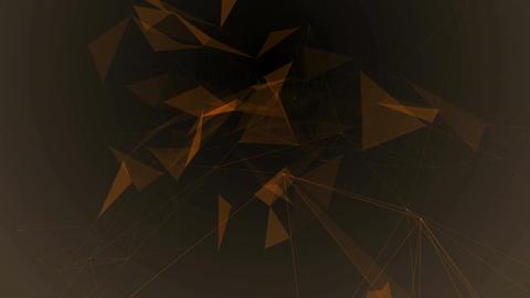 Plexus network abstract technology Animation