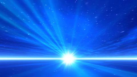 Blue beam Animation