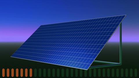 Solar panel Animation