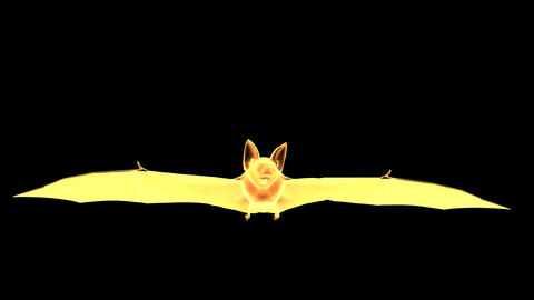 Bat with alpha channels - 8 Animation